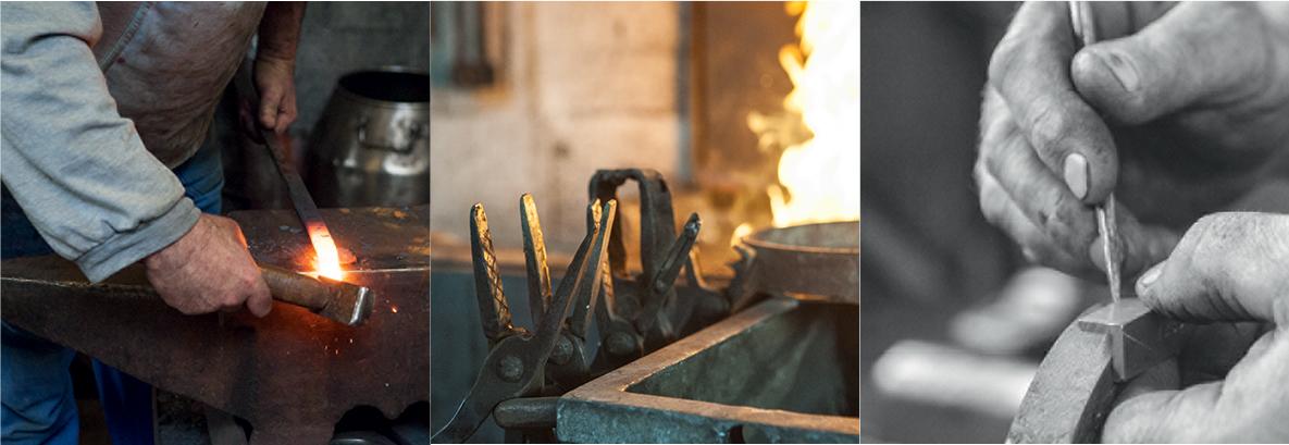 ferronnerie art fer forgé atelier forgeron