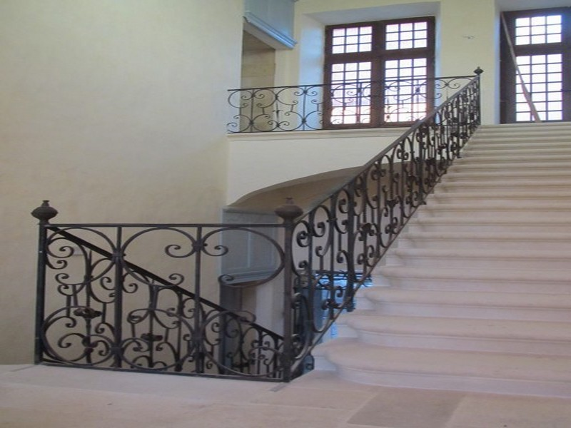 rampe et balcon