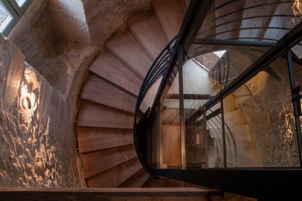 Rampe d'escalier particulier