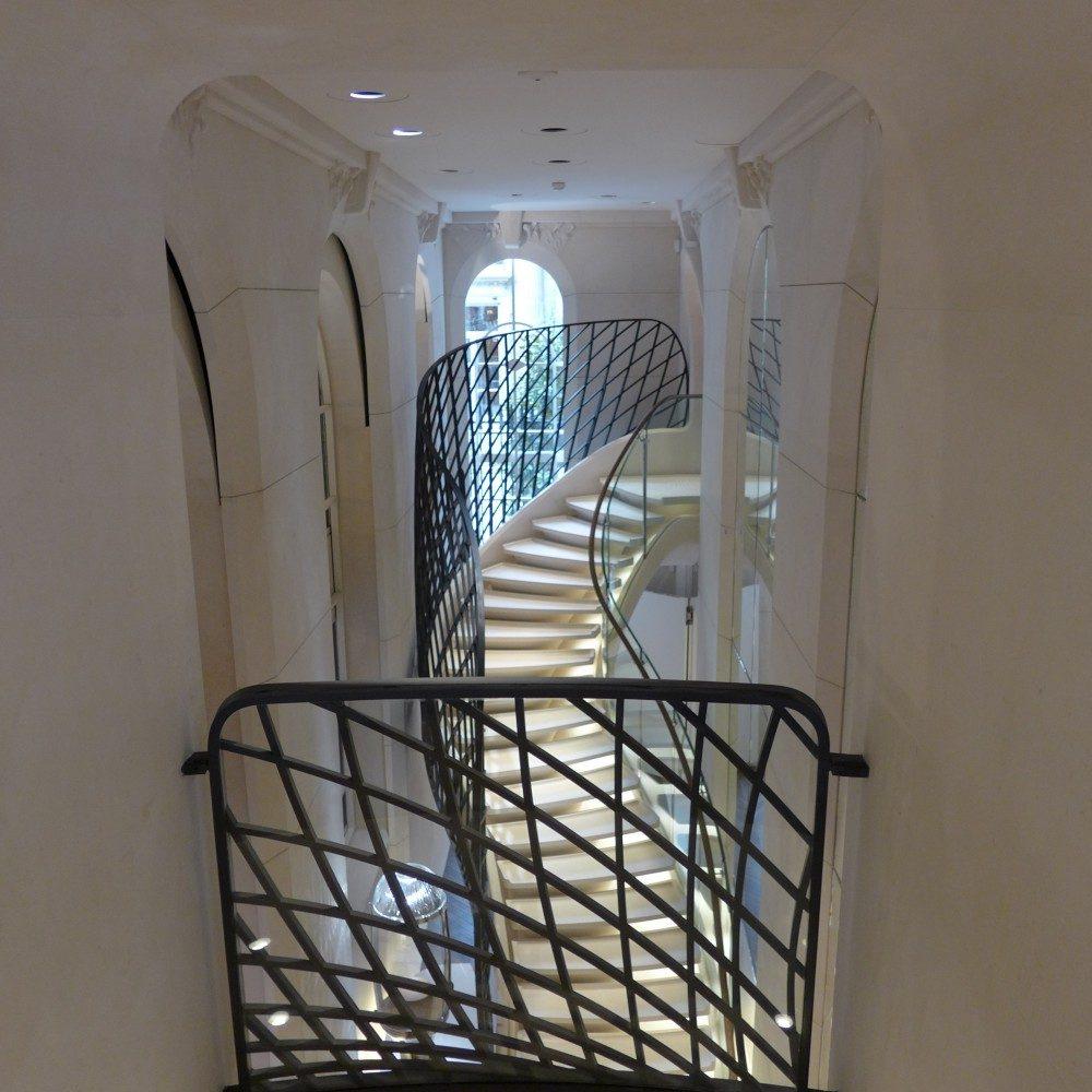 rampe escalier ferronnerie serrurerie